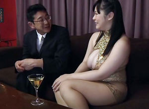 Asian Obese Dame Mikoto Yatsuka, Makes..