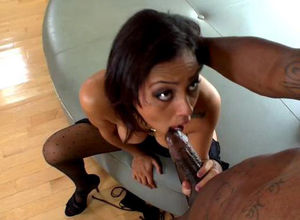 Black Cherri get her puss  after..