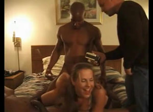 Pervy husband filming how 2 ebony bros..