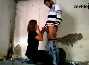 Youth turkish duo rectal porking in slum