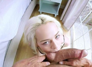 Elsa Jean attempted hump fucktoys and..