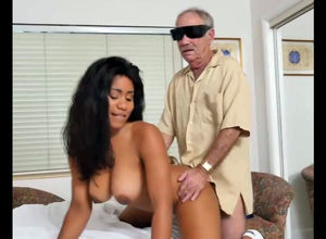 Chesty dark-hued nurse Jenna Foxx luvs..