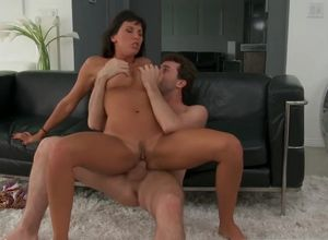 Attractive dark haired adult movie..