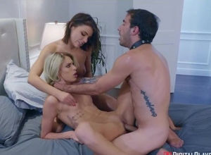 Adriana Chechik shares her  beau with..