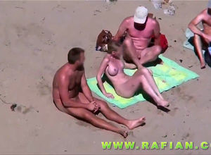 One big-chested tramp for trio fellows..