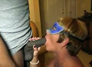 Cock-starved mature wifey in pantyhose..