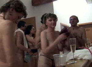 Czech mega swingers real people