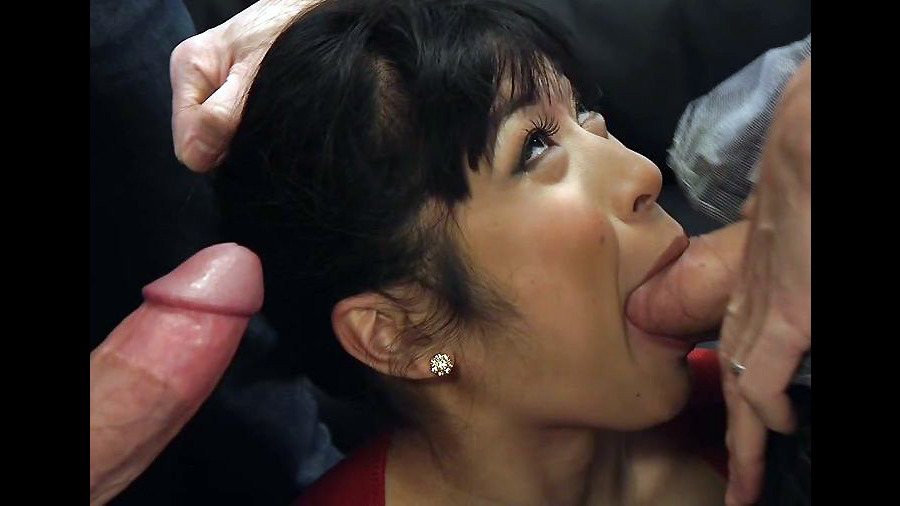 Mature japanese mummy Gets Jizz..